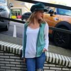 Conjunto Chaleco y Camiseta SLAM Verde Jade