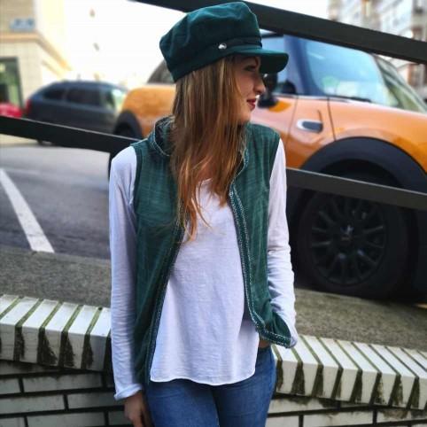 Conjunto Chaleco y Camiseta SLAM Verde Pino