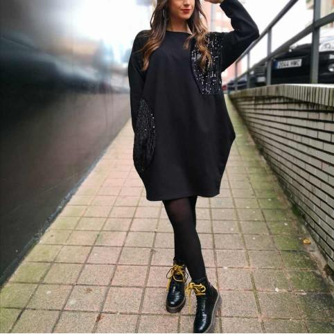 Vestido Oversize LIORA Negro
