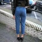 Jeans Slouchy ANAIS Dark Blue