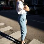 Jeans Slouchy ANAIS Light Blue