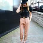 Pantalón Jogger ARES Camel