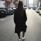 Vestido Asimétrico ZOWI Negro