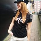 Camiseta Hombreras MERCI Negro