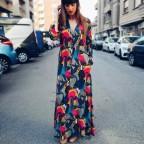Vestido Camisero Floral KARMA