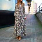 Vestido Camisero Floral AMARILIS