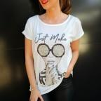 Camiseta Estampada JUST MAKE