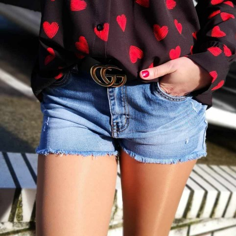 Short Denim LUCKY
