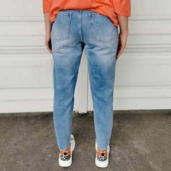 Jeans Mom Fit NEVAEH Heve