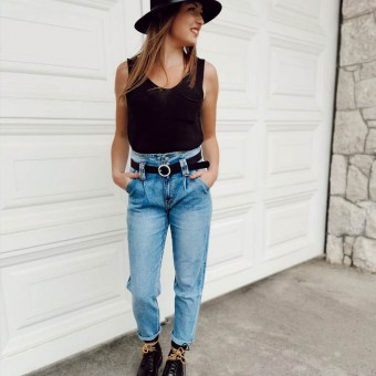 Jeans Mom Fit IZARO Heve