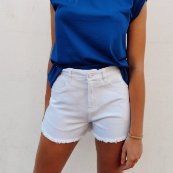 Short Denim NOVALEE Blanco Heve