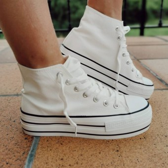 Sneaker Abotinada JONES Blanco Heve
