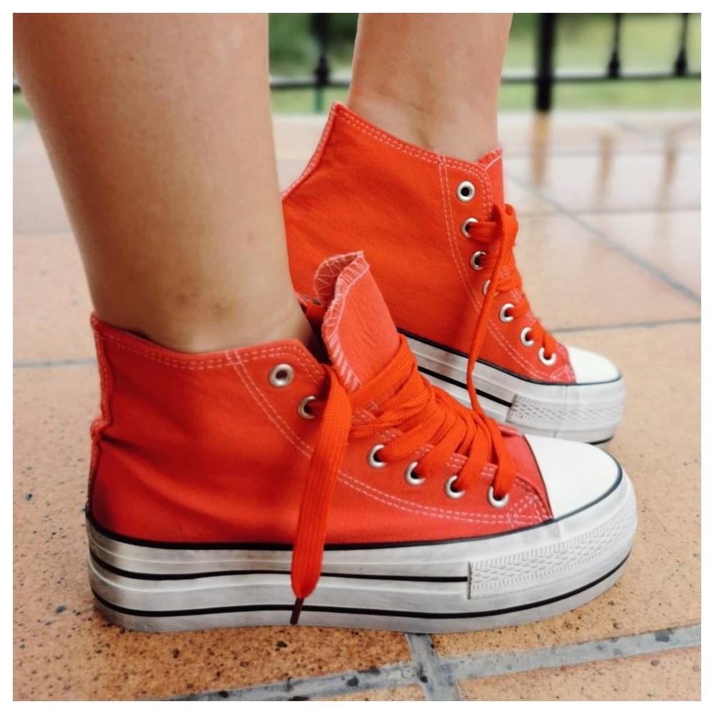Sneaker Abotinada JONES Rojo Heve