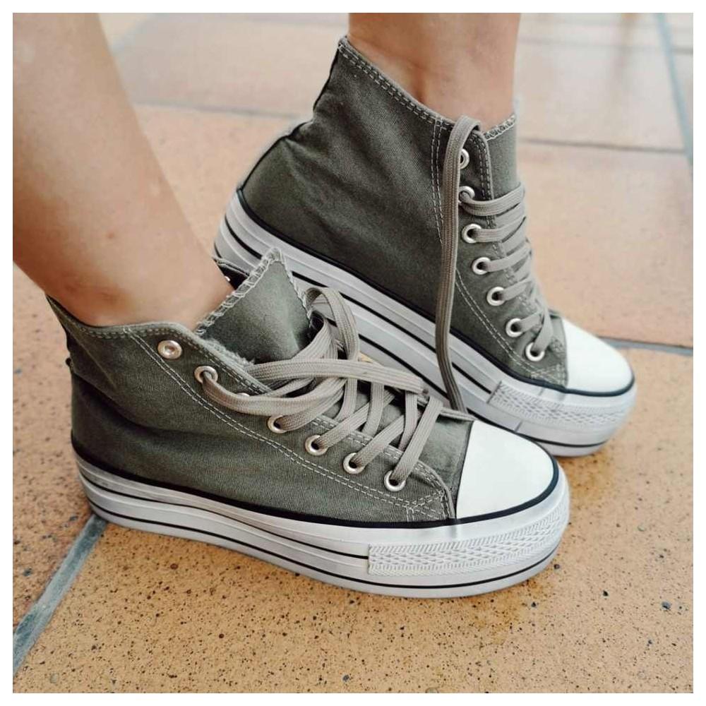 Sneaker Abotinada JONES Verde Heve
