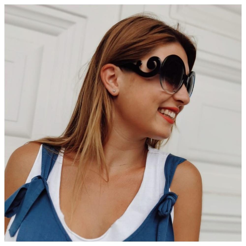 Gafas Sol Acetato Negro 02 Heve