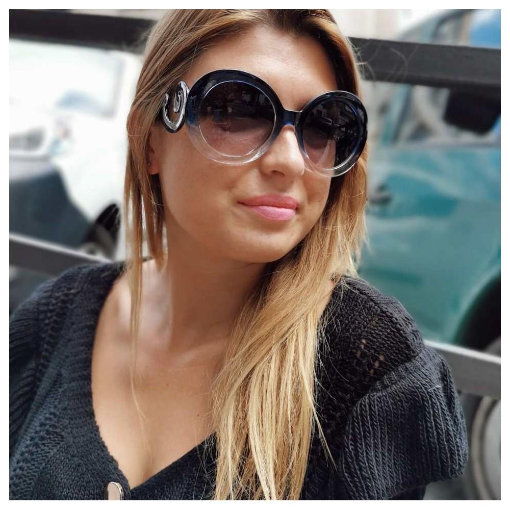 Gafas Sol Acetato Azul 02 Heve