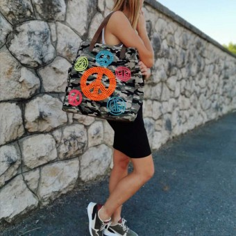 Bolso Shopper WAR AND PEACE Heve
