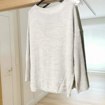 Jersey Oversize ASTRA Gris/Coral Heve