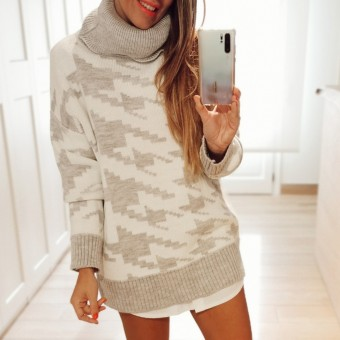 Jersey Oversize PICSY Gris Heve