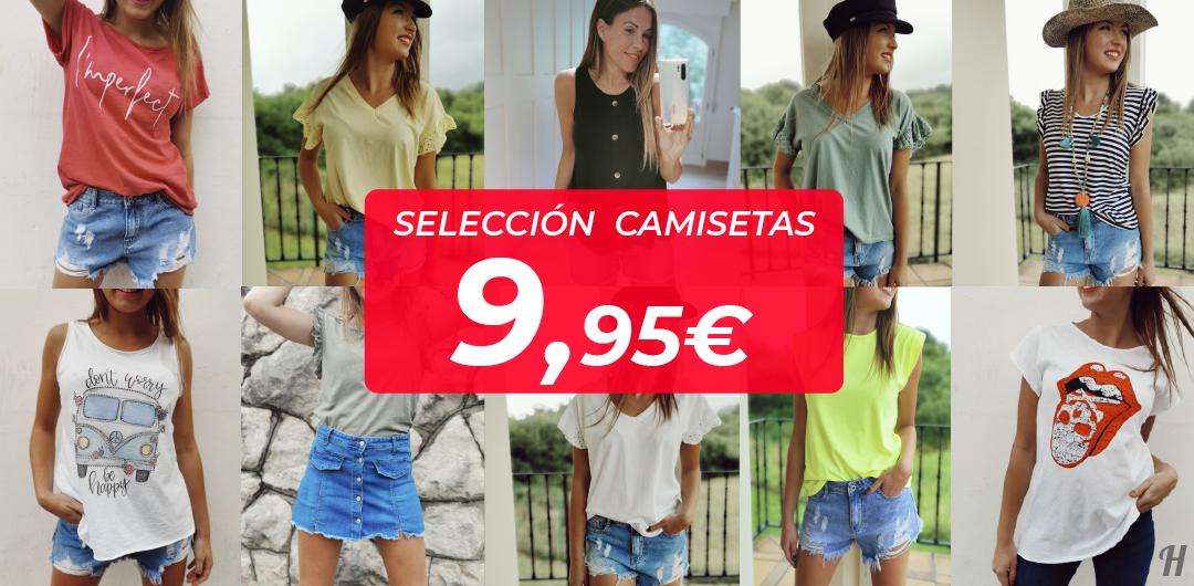 Selección de CAMISETAS a 9.95€